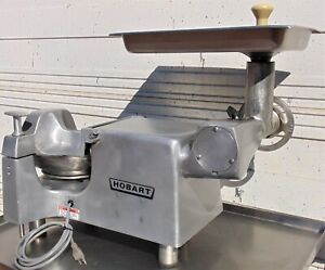 Hobart Buffalo Chopper Food Processor W Meat Grinder Attachment 84145