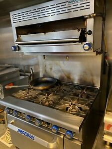 Imperial 6 Burner Gas Oven