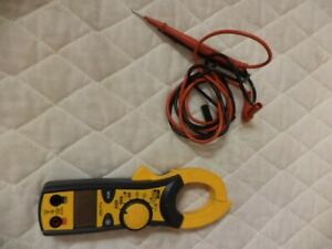New Ideal 61 746 Clamp Pro True Rms Clamp Meter 600a W lead Wires Br