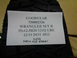 1 Nos Goodyear Wrangler Mt R 35 12 5 20 121q Lre Tire Wo Label 750002326 Q9