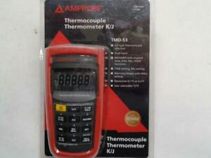 New Amprobe Tmd 53 Thermocouple Thermometer K j type R4tc