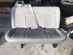 Chevy Express Van Gray Cloth 3 Passenger Bench Seat Oem Free Shipping