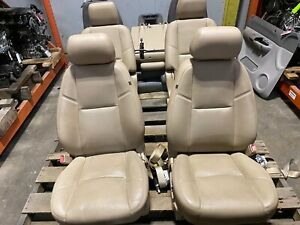 2013 Escalade Esv Front Rear Seats Heated Cooles Opt Kb6 Tan