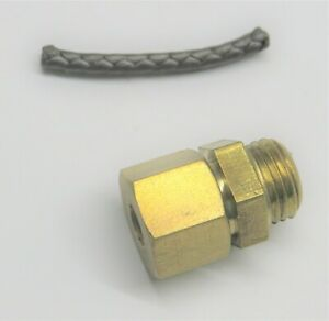 Galloway Carb Union Nut With Packing Gas Engine Motor