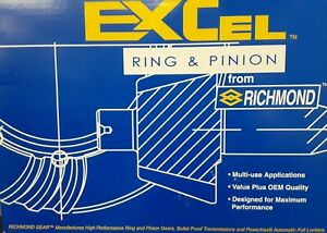 Richmond Excel Differential Ring And Pinion Gear 12bt410 Gm 12 Bolt Truck 4 10