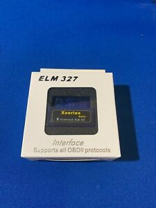 Bluetooth Elm327 Obd2 Scanner Adapter Obdii Diagnostic Tool Torque Android