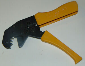 Amp Crimping Tool Amp 502834 1 Needs Dies Works Smoothly Ratcheting Save