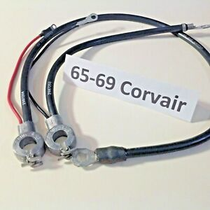 1965 1966 1967 1968 1969 Corvair Spring Ring Battery Cables Positive