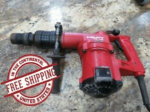 Pre owned Hilti Te 72 Rotary Hammer Drill W case Free Shipping