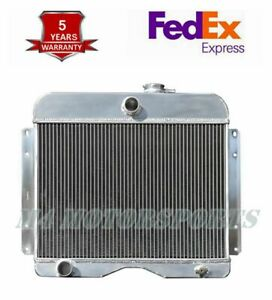 4964 3 Row Radiator For 1946 1964 Jeep Willys Station Wagon Pickup Truck I4 I6