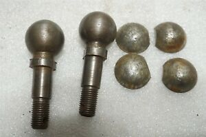 Ford Model T Tt Steering Linkage Pivot Ball Ends Shims Nos Rh1
