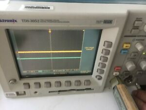 Tektronix Tds3052 2ch 500 Mhz 5 Gs s Dpo Digital Phosphor Oscilloscope