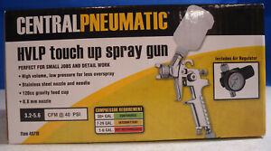 ri5 Central Pneumatic Hvlp Touch Up Spray Gun 46719 With Regulator