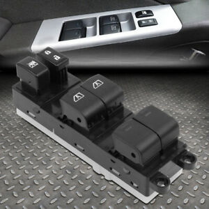 For 07 12 Nissan Pathfinder Left Driver Side Master Power Window Control Switch
