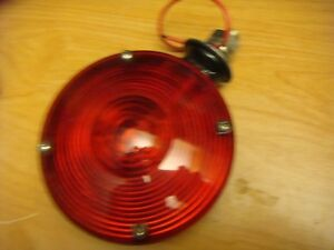 Chevy Truck Dodge Ford Rv Trailer 12 Volt 4 1 2 Ione Wire Red Signal Lamp