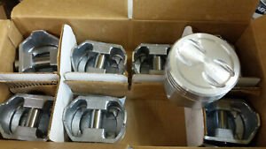 350 Chevy Pistons Dished 423p Standard Bore Set Of 8