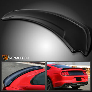 Fits 2015 2020 Ford Mustang Gt Track Pack Style Abs Rear Trunk Spoiler Wing
