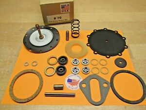1941 To 1951 Pontiac Torpedo Chieftain Double Action Fuel Pump Kit Modern Fuels