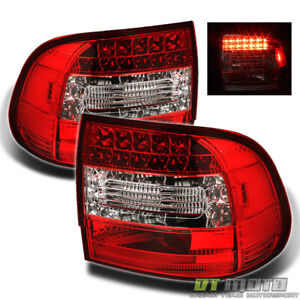 03 07 Porsche Cayenne Led Perform Red Clear Tail Lights Lamps Left right