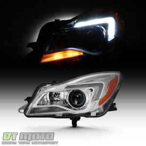 2014 2017 Buick Regal Hid Xenon Projector Headlights Headlamps Lh Driver Side