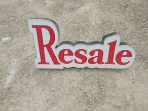 Lighted Resale Consignment Signs For Building