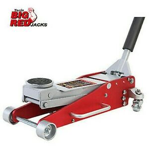 Aluminium Lightweight Jack 2 5 Tonne Low Profile 2500kg Torin Big Red Trolley