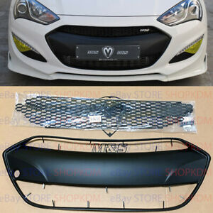 Us Ship M S Abs Radiator Grille For Hyundai Genesis Coupe Bk2 2013 2016