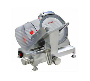 Eurodib Hbs250l Commercial Electric Meat Slicer W 10 Blade