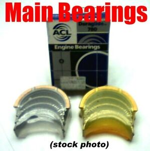 Engine Main Bearing Set 5092m Pontiac Buick 301 V8 265 V6 1977 1981 020 Oversize
