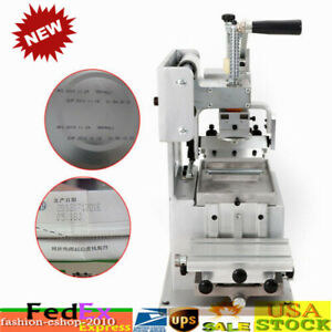 80 80mm Manual Logo Pad Printing Machine Kit Pad Printer Sealed Ink Dish System