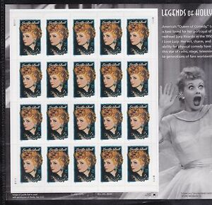 3523 LUCI NH FULL SHEET OF 20 SPECIAL SALE @ FACE $6.80