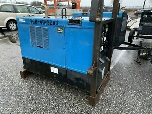 Miller Big Blue 400p Cc Welder 2005 Perkins Diesel
