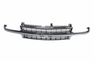 Grille Chrome Frame With Chrome Insert For Chevy Truck Tahoe Suburban Silverado