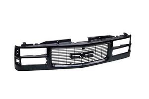 Black Grille With Composite Headlamps Type For Gmc C k Sierra Suburban Yukon