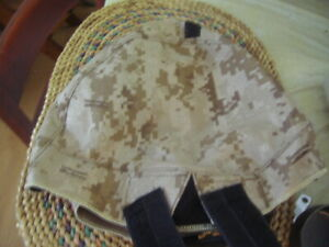 New ACH Helmet Cover US Military Issue ACU Digital Large XL NVG Flap IR Fast Tab $10.00