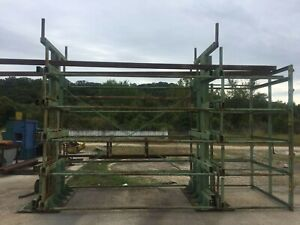 Steel Storage Systems Spacesaver Cantilever Racki