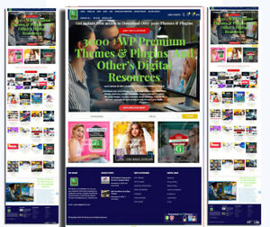 Digital Product Selling Membership Website With 3000 Products Pre installed