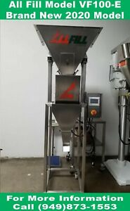 Vibratory Filler Scales All Fill Brand New