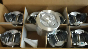 390 Ford Truck Pistons 040 Over Cast 1968 1976 U S A Made