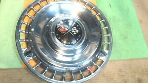Vintage Chevrolet Impala Belair biscayne 14 Hubcaps Wheel Covers