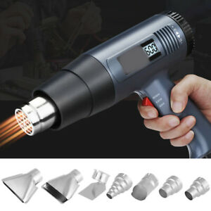 7x 35mm Heat Gun Nozzles Kit For Hot Air Soldering Station Repair Tool Accessory