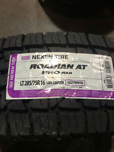 4 New Lt 285 75 16 Lre 10 Ply Nexen Roadian At Pro Ra8 Tires