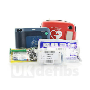 Philips Heartstart Fr2 Aed With Brand New Battery New Adult Pads And Good Case