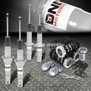 For 92 95 Civic Silver Dna Racing Strut Shock Suspension Scale Coilover Springs
