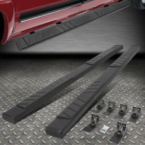 For 09 20 Ram 1500 2500 3500 Crew Cab 5 Flat Side Step Nerf Bar Running Board