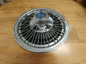 15 Very Rare Reverse Spinner Wire Hubcap For 1967 Ford Galaxie 1 Used Oem