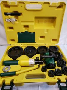 L h Dottie Hptk2 Hand Hydraulic Knockout Punch With 1 2 To 4 Kit