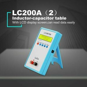 Lc200a L c Inductance Inductor Capacitance Multimeter Meter High Precision Tool