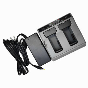 Highquality Trimble Dual Slot Two Slot Charger For Trimble Gps S8 s6 R10 Battery