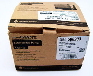 Little Giant 1 a Submersible Pump 500203